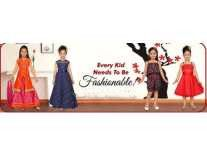 Aarika Girls Clothing Minimum 70% to 90% off from Rs. 153