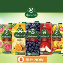 [4 Options] B Natural Juices Min 50% off from Rs.110