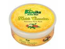 Basaika Herbal Care Unisex Paraben-Free Haldi Chandan and Kesar Fairness Face Pack, 120g at Rs. 256