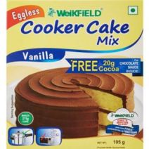 [Panty] Weikfield Cooker Cake Mix, Vanilla 195g Rs.47