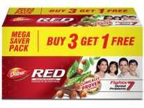 Dabur Red Toothpaste(450 g, Pack of 3) Rs. 165