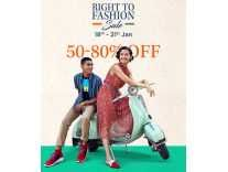 [ 18th – 21st Jan ] Myntra Right to Fashion Republic Day Sale