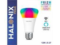 Halonix Prime Prizm Smart 12W Base E27 WiFi LED Bulb, Compatible with Amazon Alexa & Google Assistant Rs.539