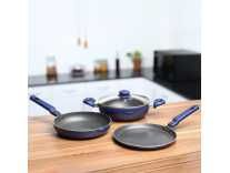[Prebook] Prestige Omega Festival Pack Induction Bottom Cookware Set(Aluminium, 3 – Piece) Rs. 1044