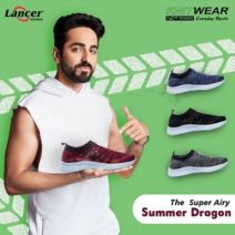 Lancer Footwear Min 50% off from Rs.201