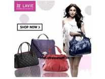 Lavie Bags Minimum 75% off from 597 @ Amazon Rs.349