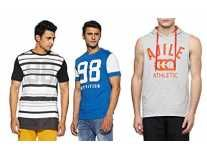 Ajile By Pantaloons Men's Cotton T-Shirt From Rs. 99