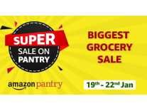 Amazon Pantry Super Sale 19th to 22nd Jan