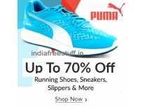 Puma Footwear Min 75% off from Rs.153