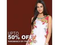 Rangmanch By Pantaloons Women Clothing Min 70% Off From Rs.120