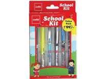 Apply Coupon] Cello School Kit Pen Set (Pack of 6 ) Rs.64