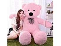Click4deal Soft Teddy Bear Pink , 5 Feet Rs.699