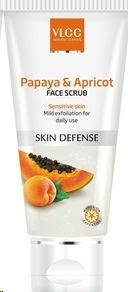 [Apply Coupon Min 2 qty] VLCC Papaya & Apricot Face Scrub, 80gm Rs.87