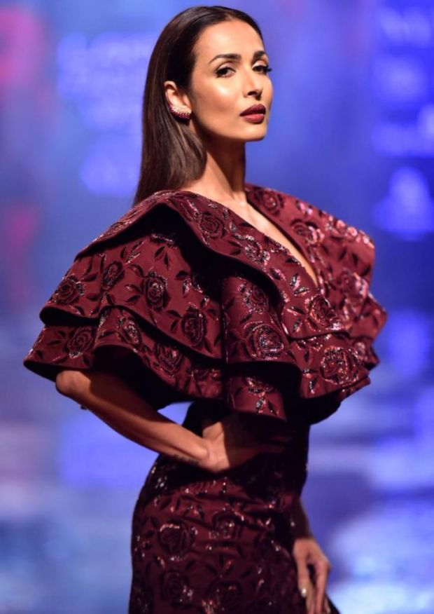 Beautiful Malaika Arora Became Showstopper At Lakme Fashion Week 2019