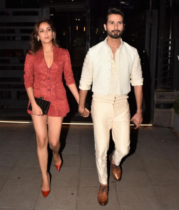 Shahid Kapoor And Mira Rajput Showcasing Their Style Quotient At Lakme Fashion Week