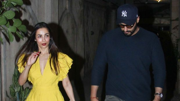 Malaika Arora and Arjun Kapoor Spotted Together