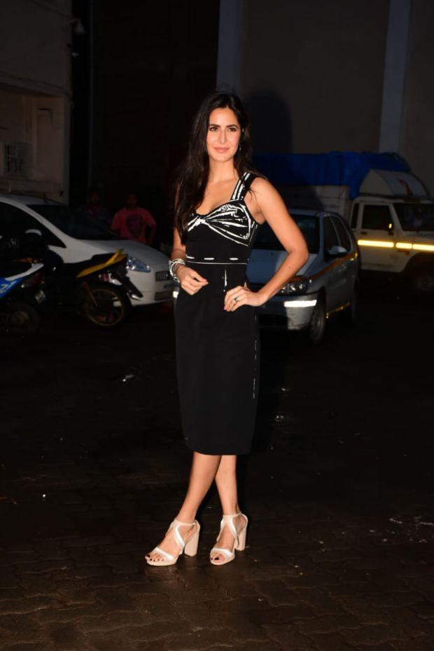 Salman Khan And Katrina Kaif Promote Bharat Movie In Monocrome Outfit