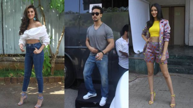 Student Of The Year 2 Stars Tiger, Tara & Ananya Pull Off A Stylish Stint