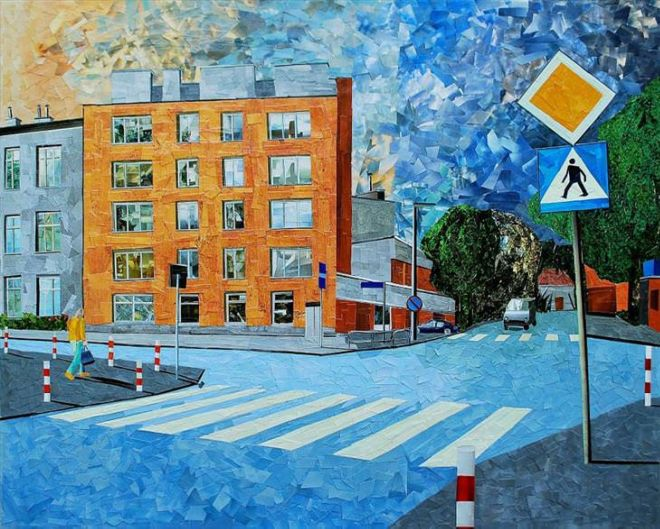 16 Paper And Glue Paintings That Are Really Amazing