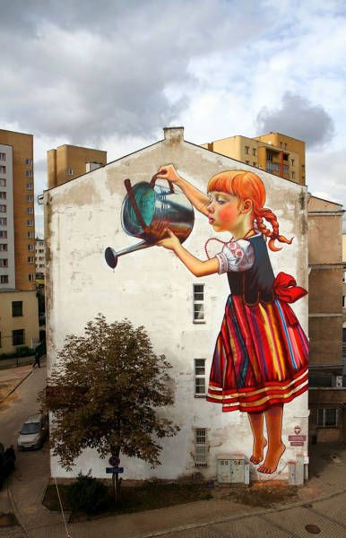 23 Street Artworks That Combine With Nature