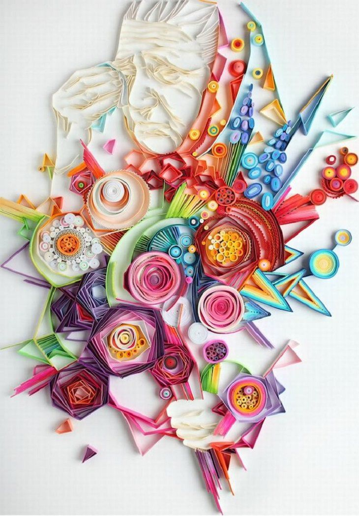Russian Artist Yulia Brodskaya Makes Fabulous Paper Art