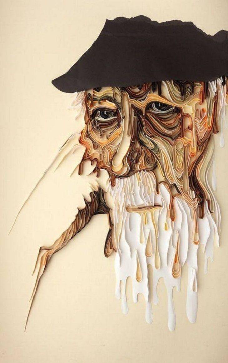 Russian Artist Yulia Brodskaya Makes Fabulous Paper Art