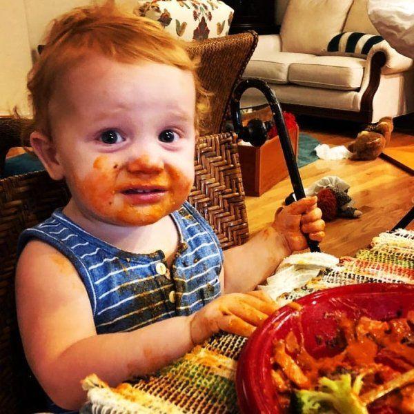 17 Hilarious Pics Of Babies Eating Food
