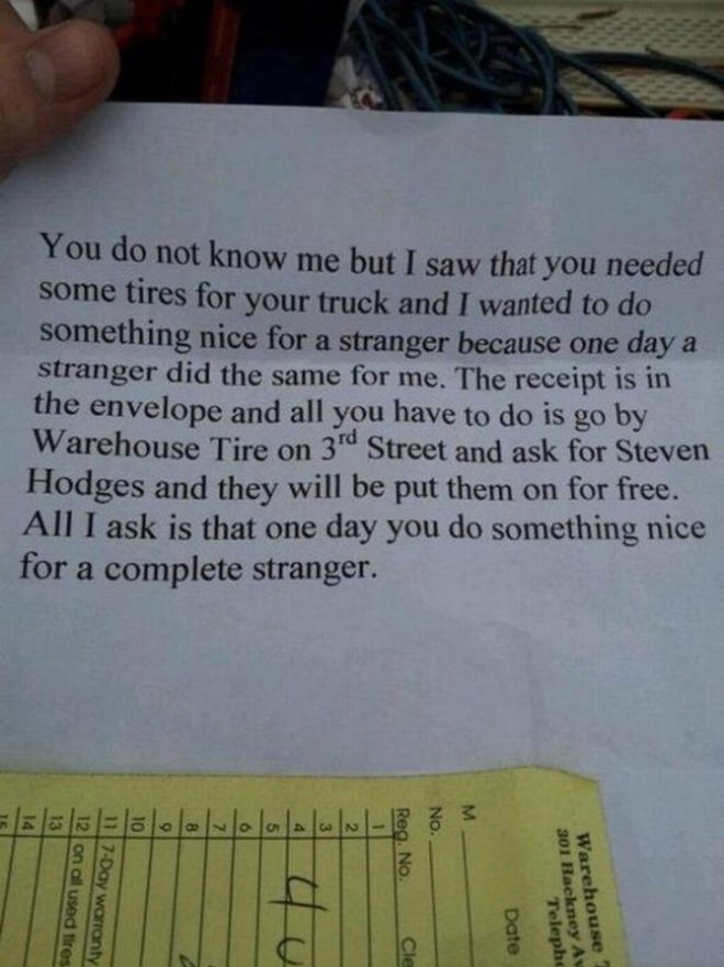 17 Random And Inspiring Acts Of Kindness That Will Melt Your Heart