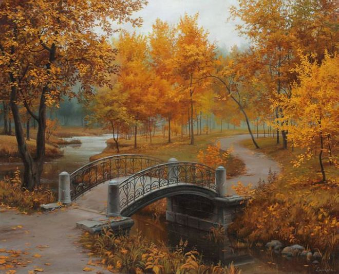 Russian Artist Evgeny Lushpin Makes Beautiful Paintings