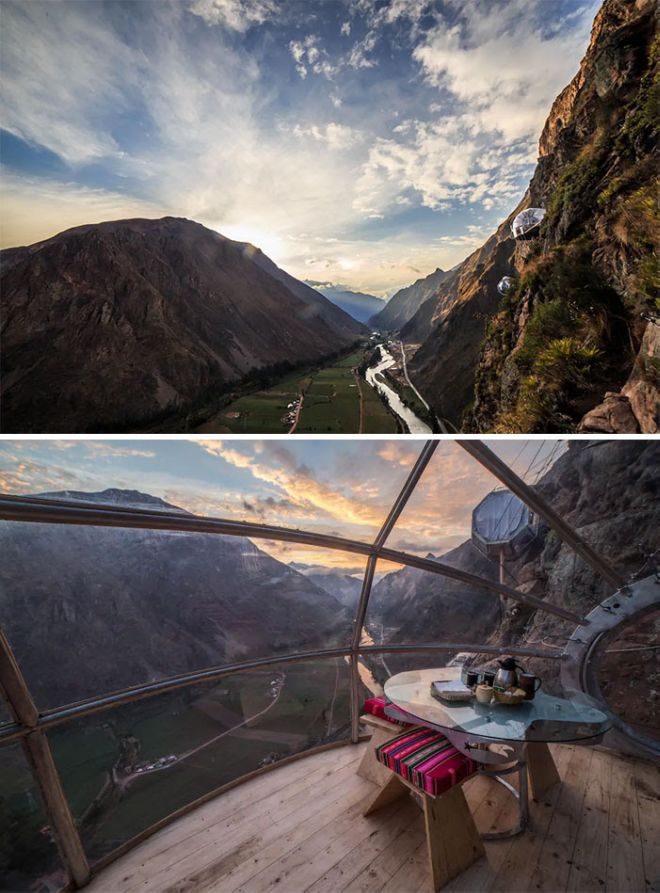 Experience Skylodge Adventure Suites In Peru