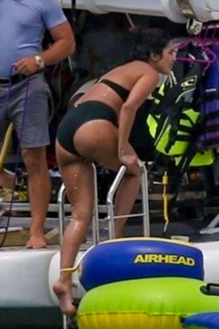 Priyanka Chopra Takes A Jet Skii Ride In A Swimsuit In Miami