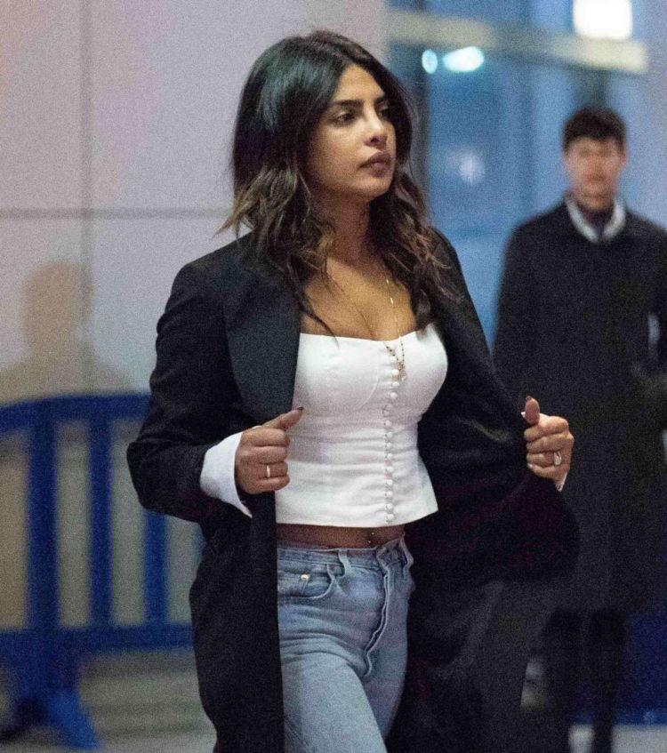 Priyanka Chopra Spotted At JFK Airport In New York