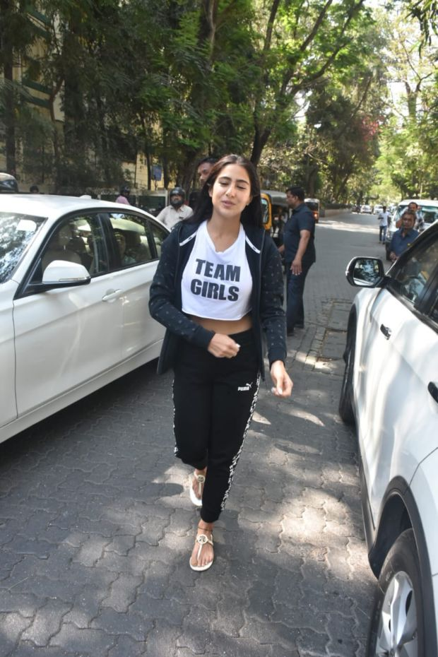 Sara Ali Khan Out And About Candids In The City
