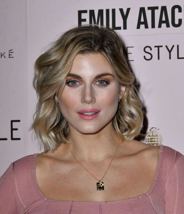 Ashley James At Emily Atack In The Style Clothing Launch Party