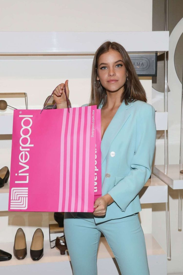 Barbara Palvin At The Liverpool Fashion Fest Store Tour In Mexico