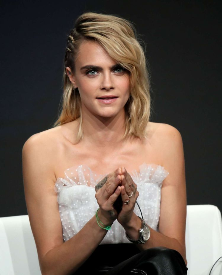 Cara Delevingne Attends 2019 Summer TCA Press Tour In Beverly Hills