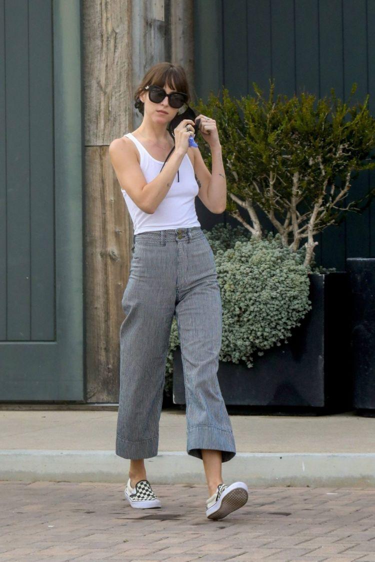 Dakota Johnson Candids Out In Malibu