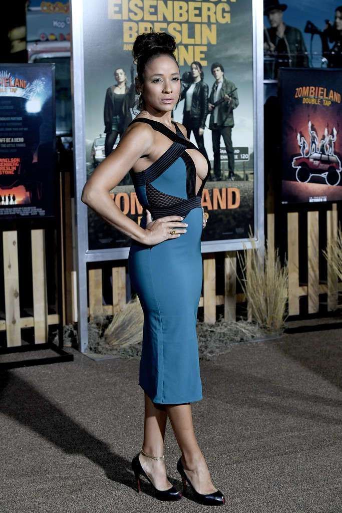 Dania Ramirez Attends The Premiere Of 'Zombieland: Double Tap'
