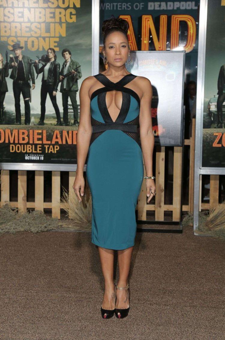 Dania Ramirez Attends The Premiere Of 'Zombieland: Double Tap'