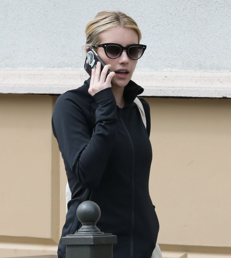 Emma Roberts Spotted Shopping Out In Los Feliz