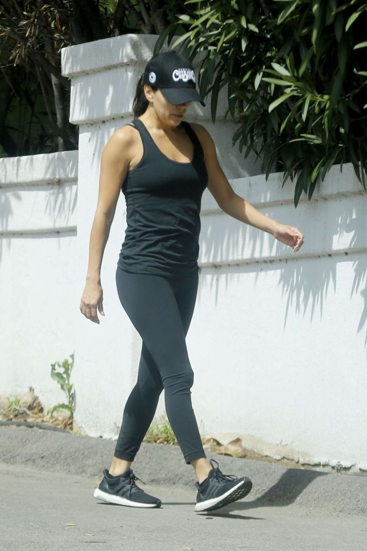 Eva Longoria Goes Out For A Workout In Los Angeles