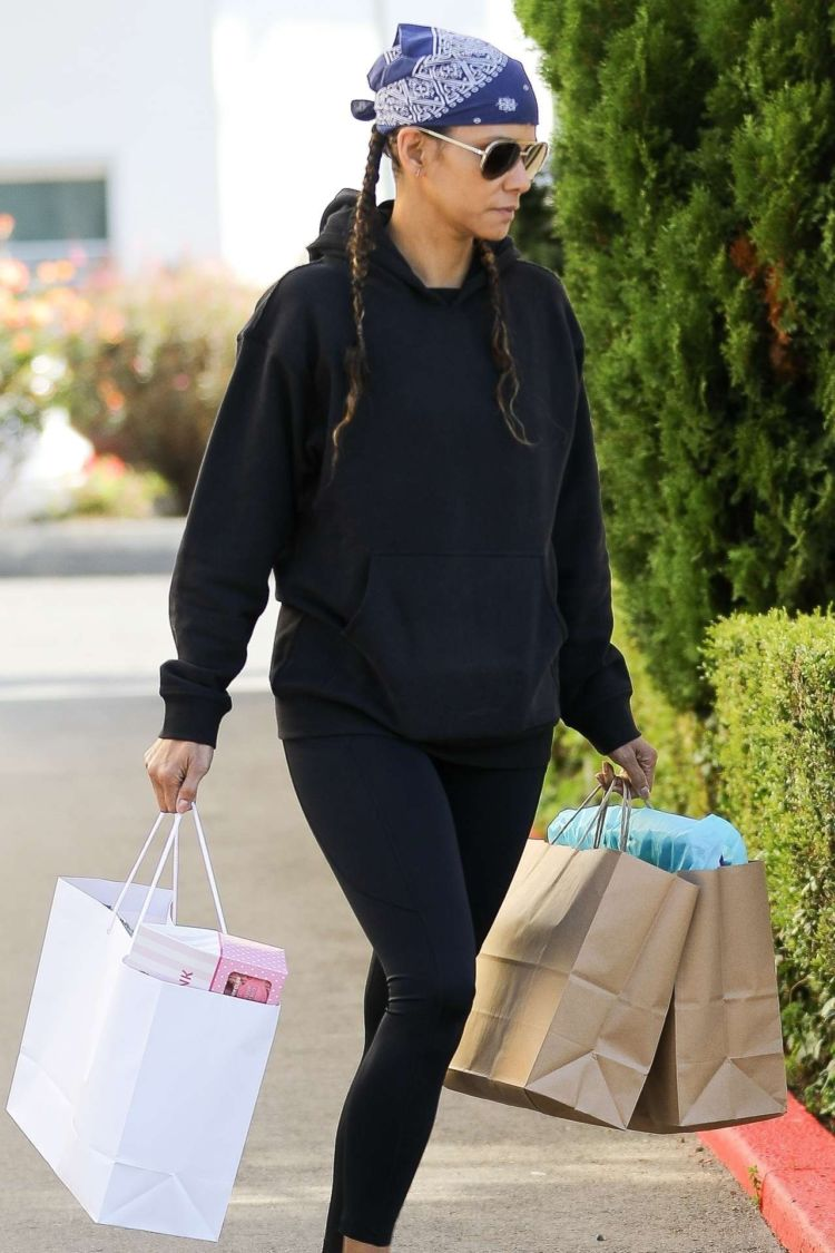 Halle Berry Spotted In Tights While Shopping In Los Angeles
