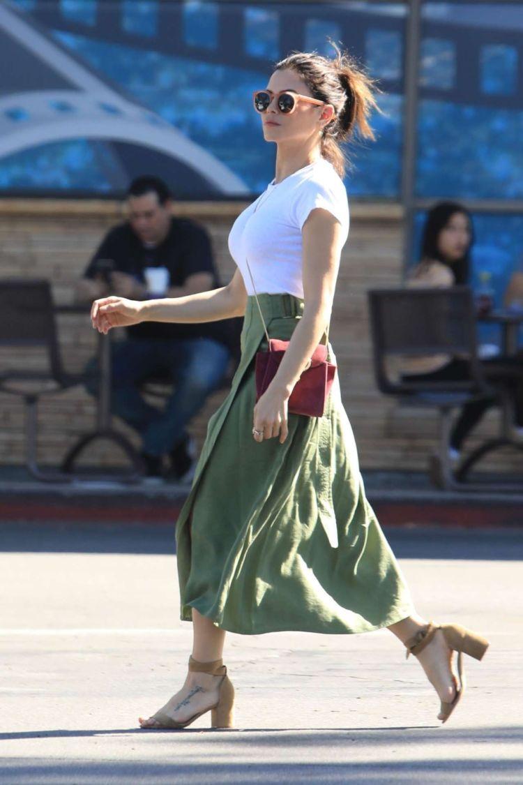 Jenna Dewan-Tatum Out For Shopping In Studio City
