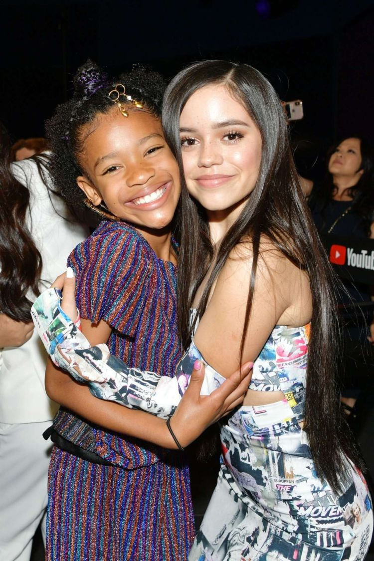 Pretty Jenna Ortega At Power On Premiere In Playa Vista