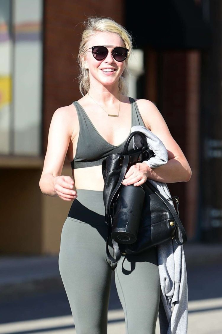 Julianne Hough Candids While Leaving A Gym In Studio City