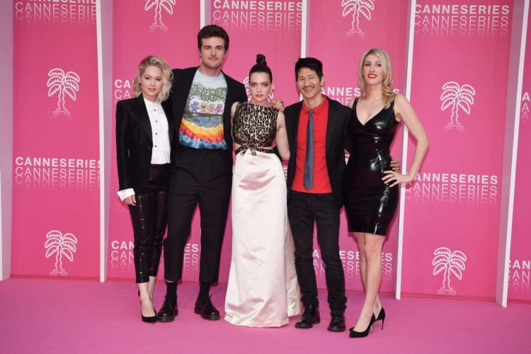 Kelli Berglund Attendded The 2nd Cannesseries At The Palais Des Festivals In Cannes