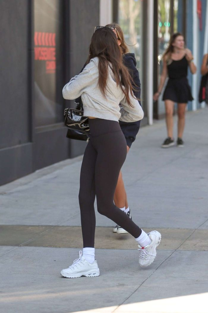 Madison Beer Candids In Leggings Out In Beverly Hills