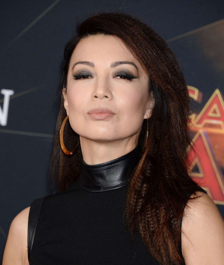 Gorgeous Ming-Na Wen Attends The Premiere Of 'Captain Marvel' In Hollywood