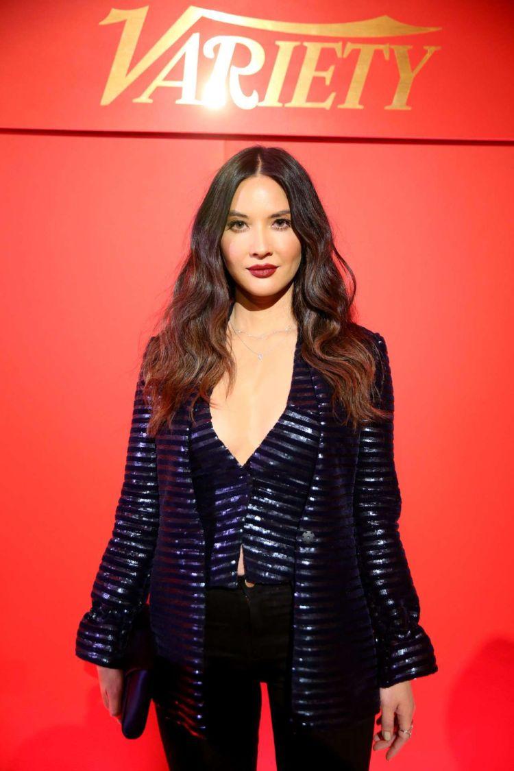 Olivia Munn Attends Variety X Armani Makeup Artistry Dinner Party