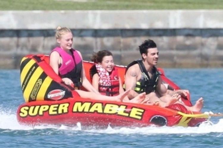 Priyanka Chopra And Sophie Turner Take A Boat Ride With Jonas In Miami